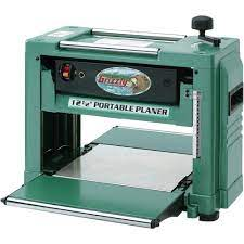 side view of Grizzly Industrial G0505 – 12-1/2″ 2 HP Benchtop Planer