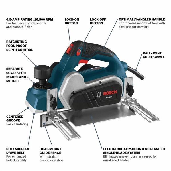 bosch pl1632 tech features and specs